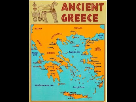 Greek Geography, Topography, and World View