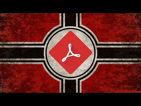 Adobe Reader Is LITERALLY Hitler.
