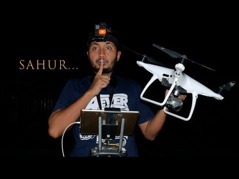 BANGUNIN ORANG SAHUR PAKAI DRONE..