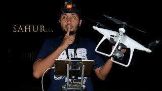 Download lagu BANGUNIN ORANG SAHUR PAKAI DRONE MP3