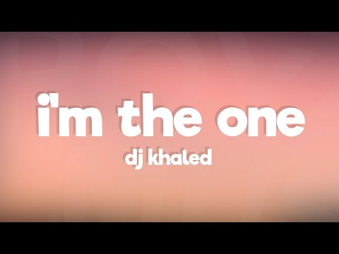 Download DJ Khaled  I39m the One ft Justin Bieber Chance the Rapper Lil Wayne Lyrics  Lyric Video