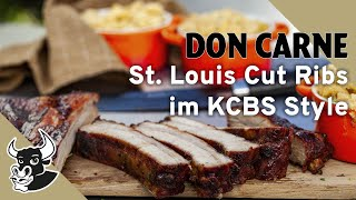 St. Louis Cut Ribs Im Kcbs-style  | Rezept |don Carne