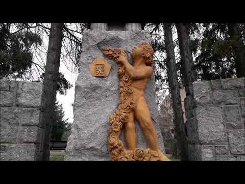 Petrovice - Praha15 , Pomník Obětem 1. A 2. Světové Války