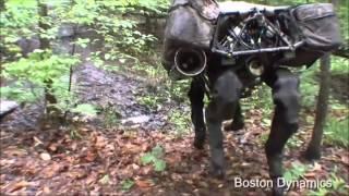 Cavalo Robo ou Grande Cão Robo - Incrivel Máquina que será usada em Guerras! Assustador!