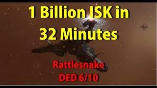 DED 6/10 Sansha - 1.1b ISK in 32 minutes! - EVE Online