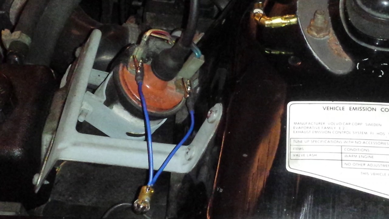 small resolution of 86 volvo coil wiring
