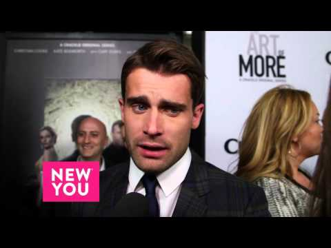TheArt of More star Christian Cooke tells New You why he love binge watching