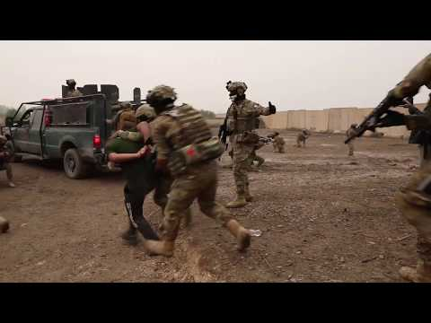 DFN: ERD Supremacy of the Law Exercise BAGHDAD, IRAQ 12.04.2018