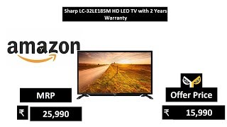 Sharp LC-32LE185M HD LED TV with 2 Years Warranty