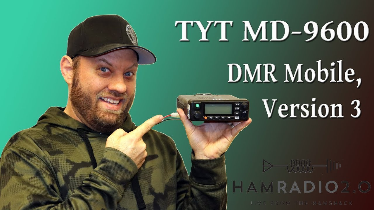 Ham Radio 2 0: Episode 127: TYT MD-9600 DMR Mobile, Version 3