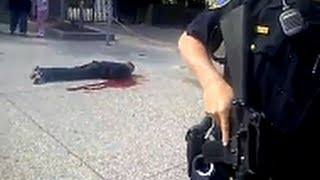 4409 -- LAPD chase man EXECUTE him Claim Self Defense