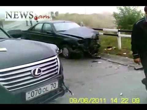 Car accident in Nagorno-Karabakh Republic