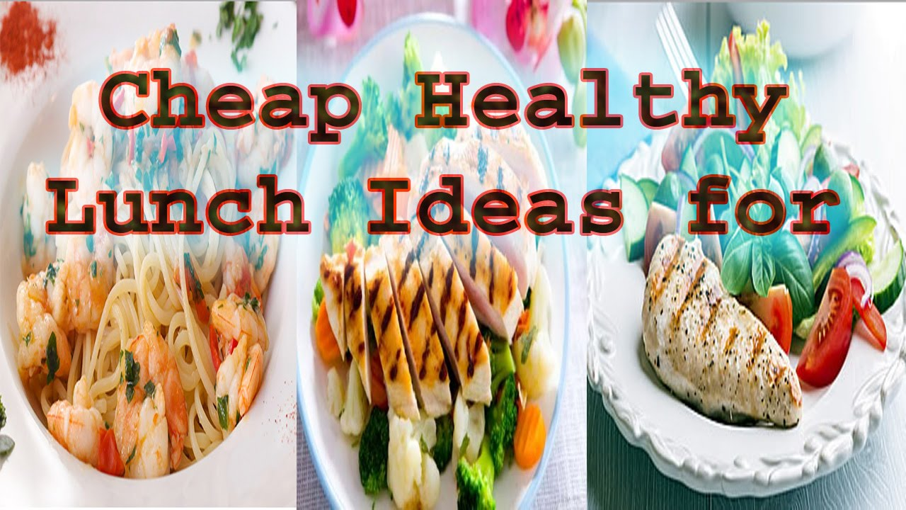Cheap healthy lunch ideas for work for men youtube forumfinder Images