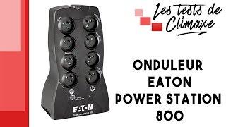 Test d'un onduleur EATON Power Station 800