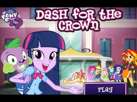 My Little Pony Equestria Girls - Canterlot High School Dash Part # 05 End