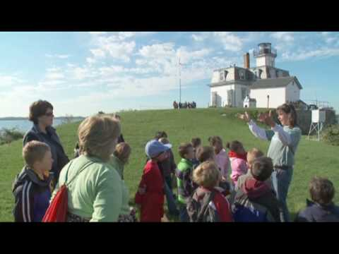 Field Trip to Rose Island Lighthouse, Newport, Rhode Island