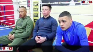 YOUNG GUNS RELOADED PRESS EVENT LIVERPOOL: LADS FROM EVERTON RED TRIANGLE DISCUSS THE SHOW