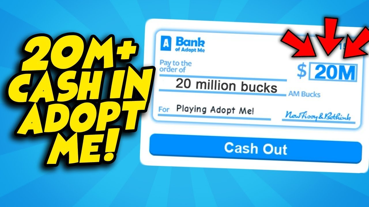 Get Unlimited Amount Of Money In Adopt Me New 2020 Roblox Youtube