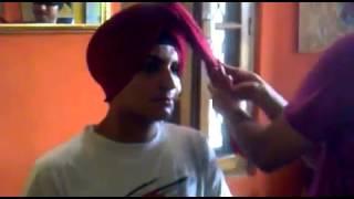 Turban pagg, pagri dastar domalla Thind Dastar academy jalandhar Bhupinder Thind 9463115177
