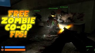 Codename CURE Gameplay: Free Zombie CO-OP FPS! - (PC Walkthrough/Playthrough)