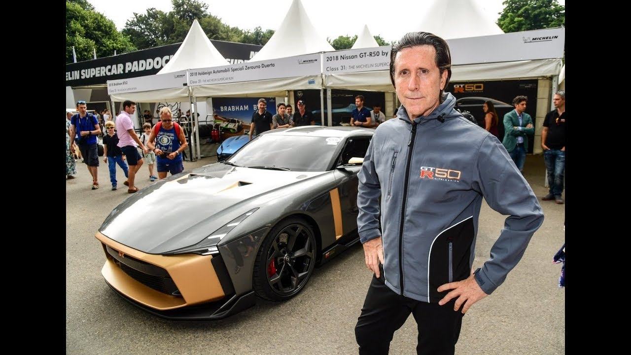 Alfonso Albaisa On The Nissan Gtr 50 By Italdesign Youtube