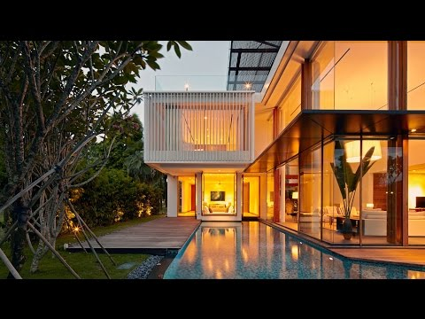 Spectacular Sophisticated Contemporary Residence in Singapore (by Robert Greg Shand Architects)