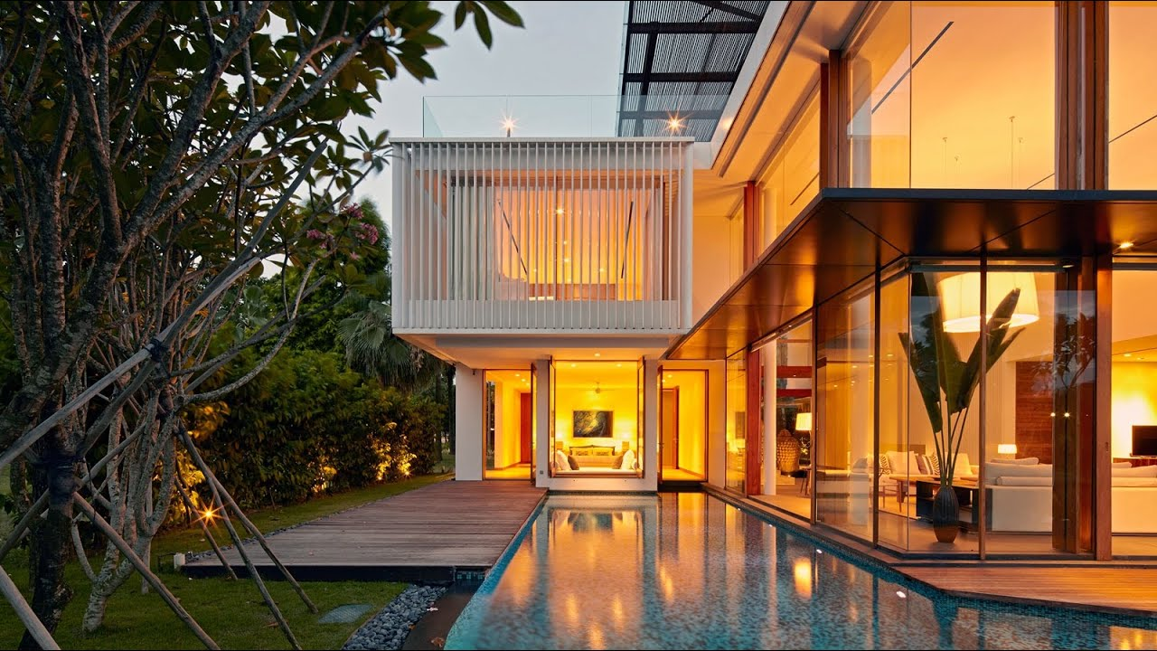 spectacular design dream home. Spectacular Sophisticated Contemporary Residence in Singapore  by Robert Greg Shand Architects YouTube
