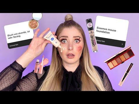 Ich teste eure HASS Makeup Produkte! 😳😰