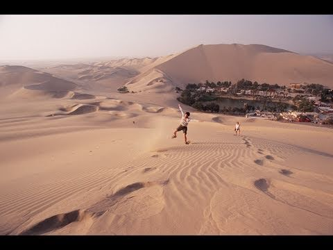 Dune Buggy And Sand Boarding The Dunes Of Huacachina