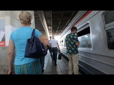 ЭД4М-0046, маршрут: Москва - Черусти / Train ED4M-0046, Route: Moscow - Cherusti