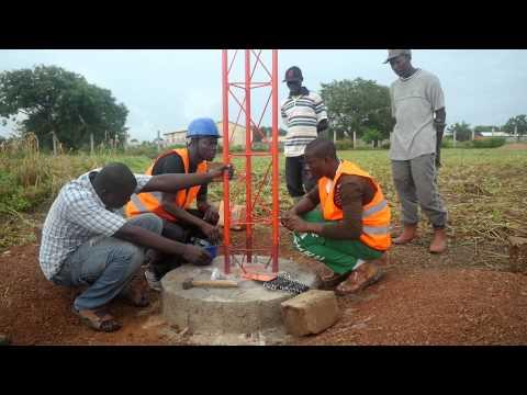 Hope Radio Tower Construction