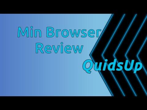 Min Web Browser Review