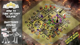 Clash of Clans - TH9 Valkyrie Attack Strategy: GoVaHo Raid - 20/20 vs 30/30 Battle Royals