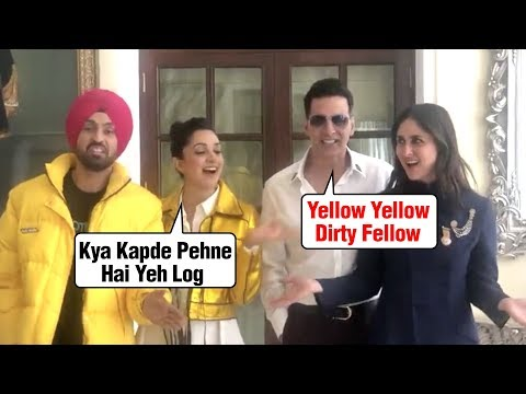 Kiara Advani And Diljit Dosanjh INSULT Akshay Kumar Kareena Kapoor | MUST WATCH