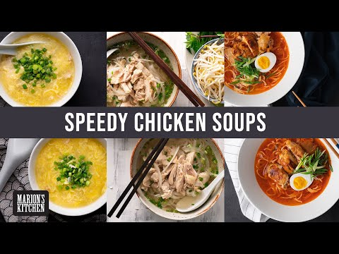 What I make when I need chicken soup FAST | Marion's Kitchen