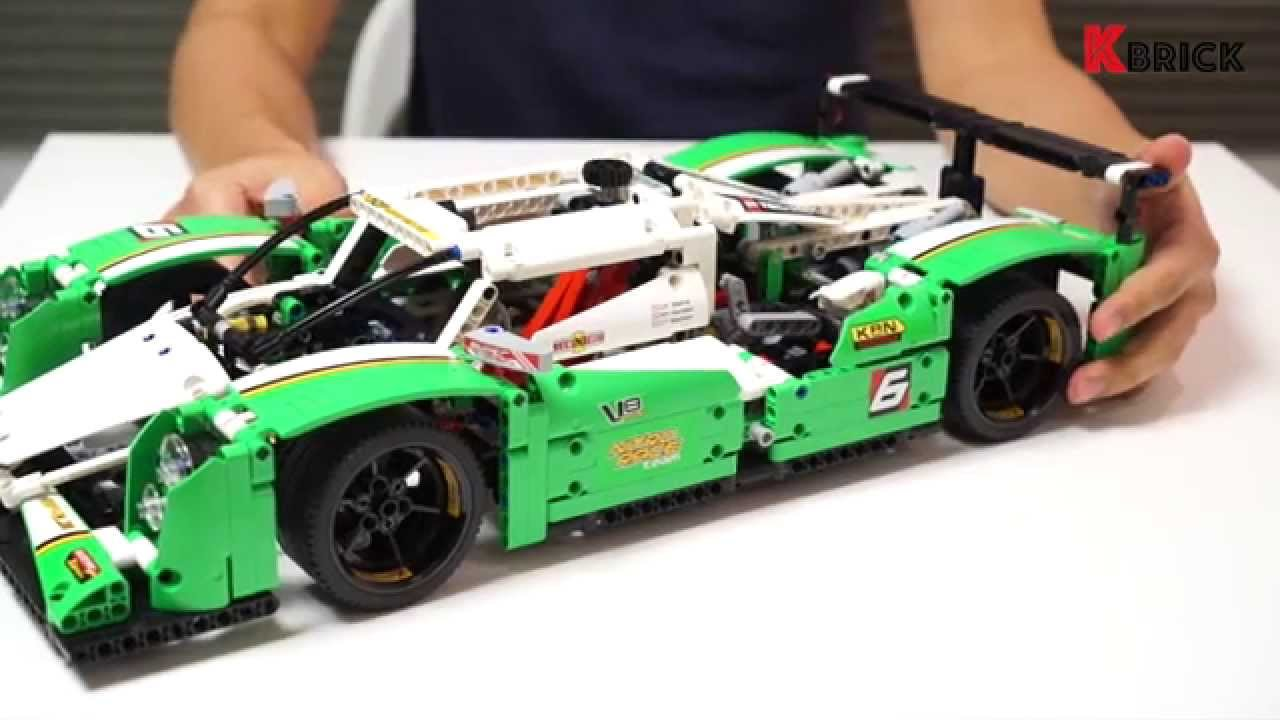 lego technic 42039 39 24 hours race car 39 review by youtube. Black Bedroom Furniture Sets. Home Design Ideas