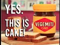 How To Make A VEGEMITE JAR...Cake! Chocolate cakes, red, white and blue buttercream and fondant!
