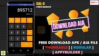 CAL-C   A Simple Calculator App   Free AIA   Ct tricks