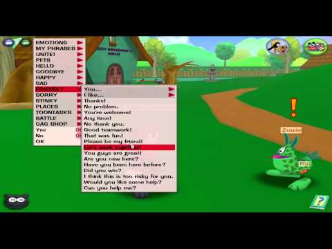 Toontown Tutuorial: How To True Friend (Sf) Chat Less Toons