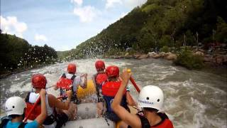 Upper Ocoee River 1996 Olympic Course Class IV Rafting FUN! June 21, 2014