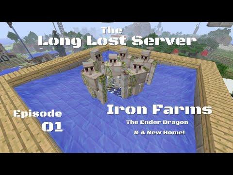 EPISODE 1: SEASON 4 - THE LONG LOST SERVER - Minecraft