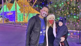 Night Of A Million Lights At Give Kids The World Village! | Festive Orlando Holiday Date Night Idea!