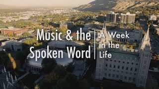 Music & the Spoken Word: A Week in the Life