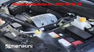 Rửa xe bằng máy hơi nước nóng - DRY STEAM CAR WASH MENIKINI
