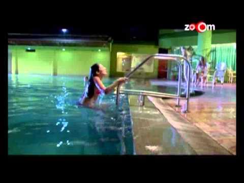 Hot Bikini Scene Girl Coming Out From Swimming Pool From Ek Anhonee Youtube