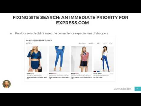 [WEBINAR] How Express improved site search to get customers to the right products, faster than ever