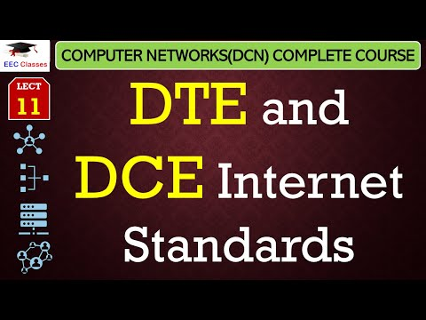 DTE And DCE In Data Communication And Networking(Hindi)