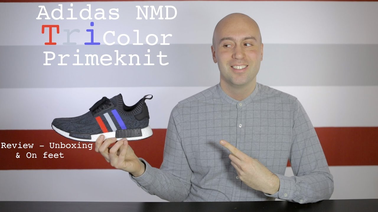 83e0043e4 Adidas NMD Primeknit R1 Tri Color Black - Review + Unboxing + On Feet - Mr  Stoltz 2017 - YouTube