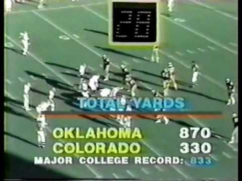 #12 Oklahoma at Colorado - 1980 - Football