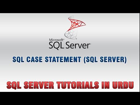 SQL Server Tutorials In Urdu/Hindi - SQL Case Statement
